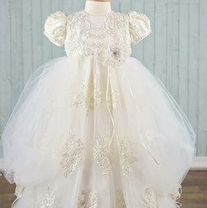 Designer baptismal dress